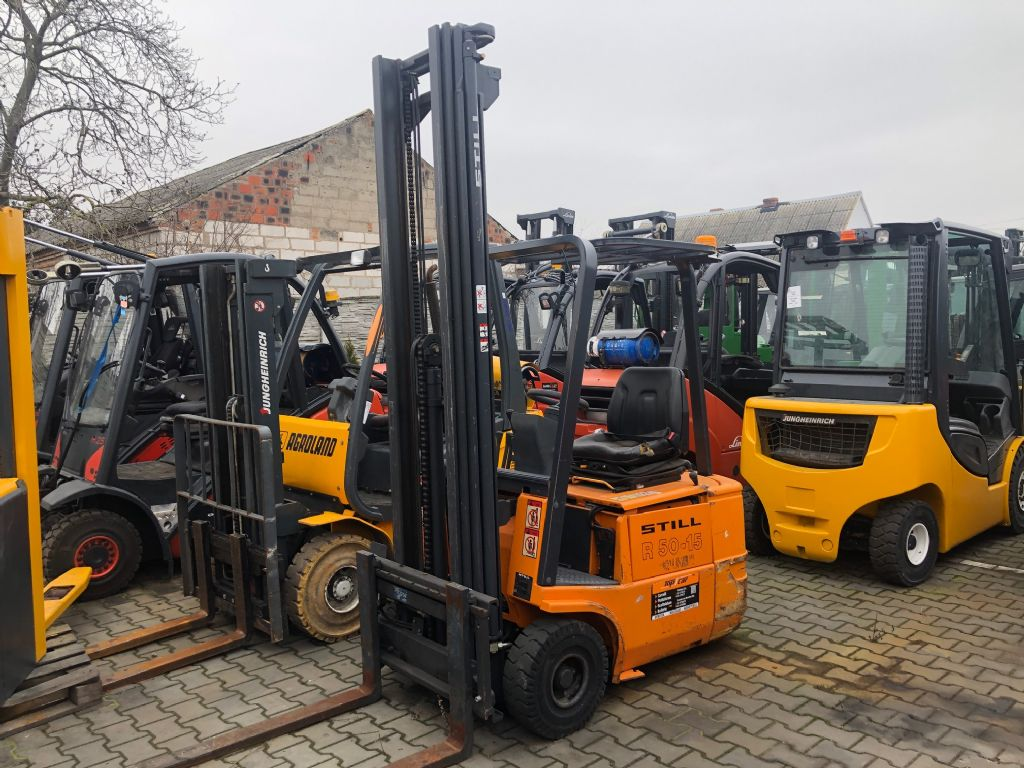 Still R50-15 Electric 3-wheel forklift www.superlift-forklift.com
