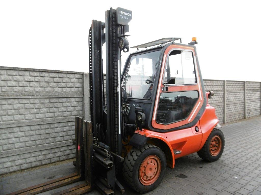 Linde H35D-04 Diesel Forklift www.superlift-forklift.com