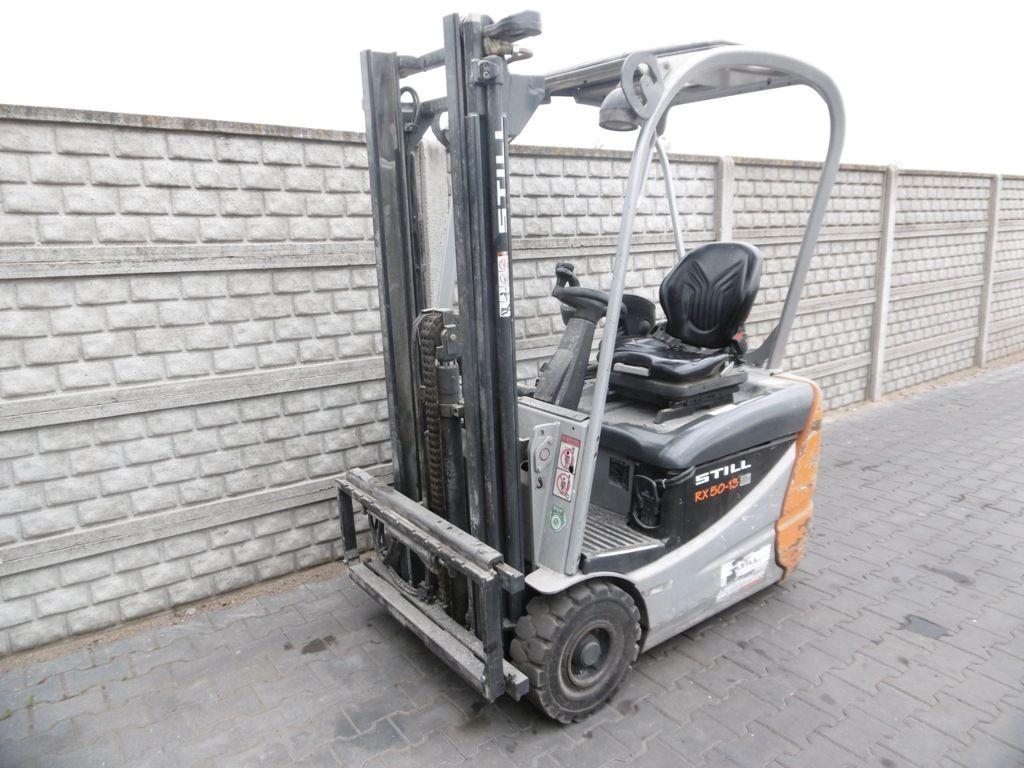 Still RX50-13 Electric 3-wheel forklift www.superlift-forklift.com