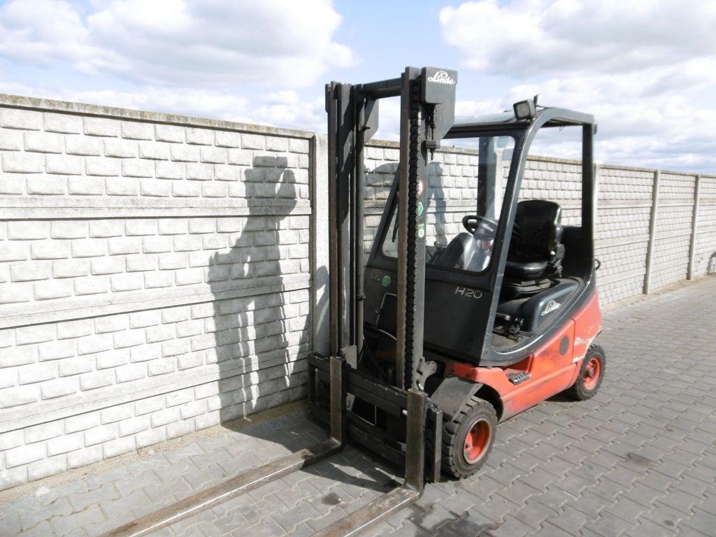 Linde H20T-03 LPG Forklifts www.superlift-forklift.com