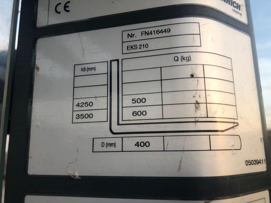Jungheinrich EKS210 Medium Lift Order Picker www.superlift-forklift.com