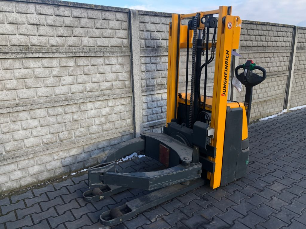 Jungheinrich EJC102 only 13h Электротележка www.superlift-forklift.com