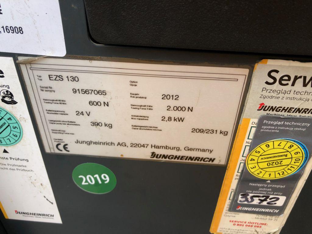 Jungheinrich EZS130 Tow Tractor www.superlift-forklift.com