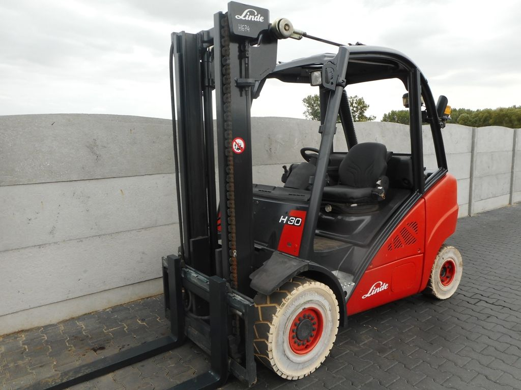 Linde H30D Diesel Forklift www.superlift-forklift.com