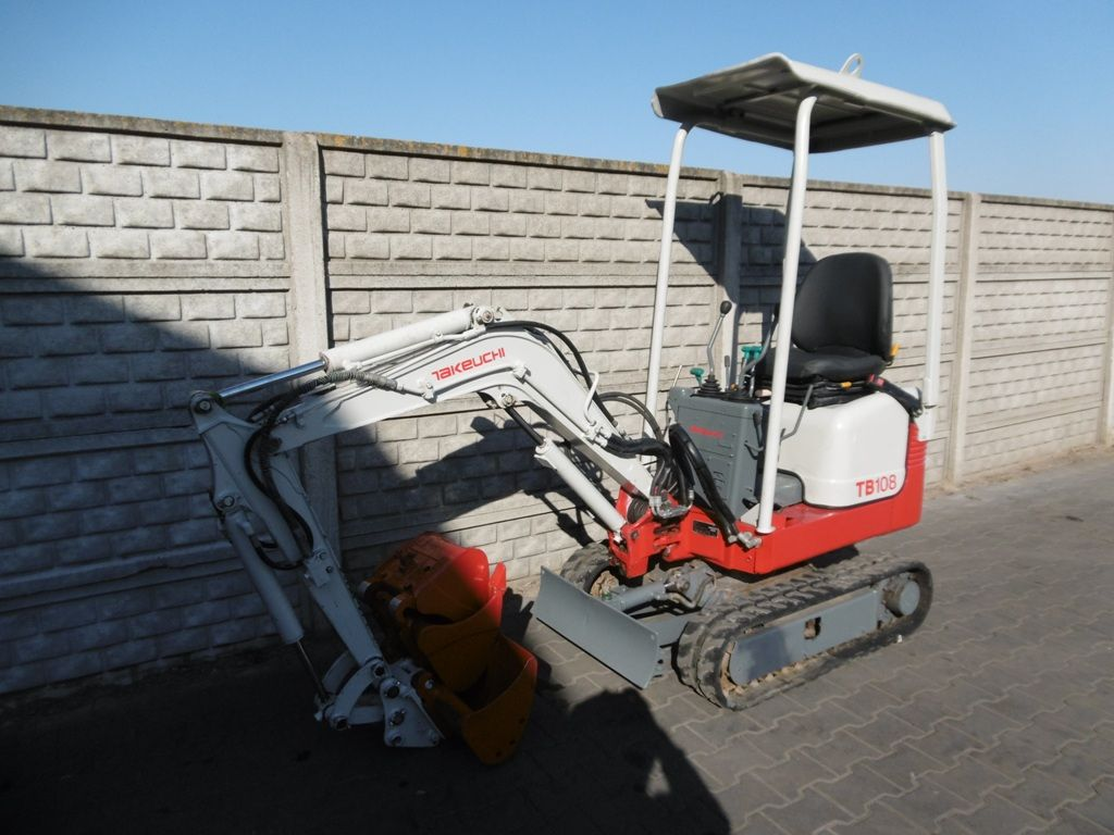 Takeuchi TB108 Mini excavators www.superlift-forklift.com