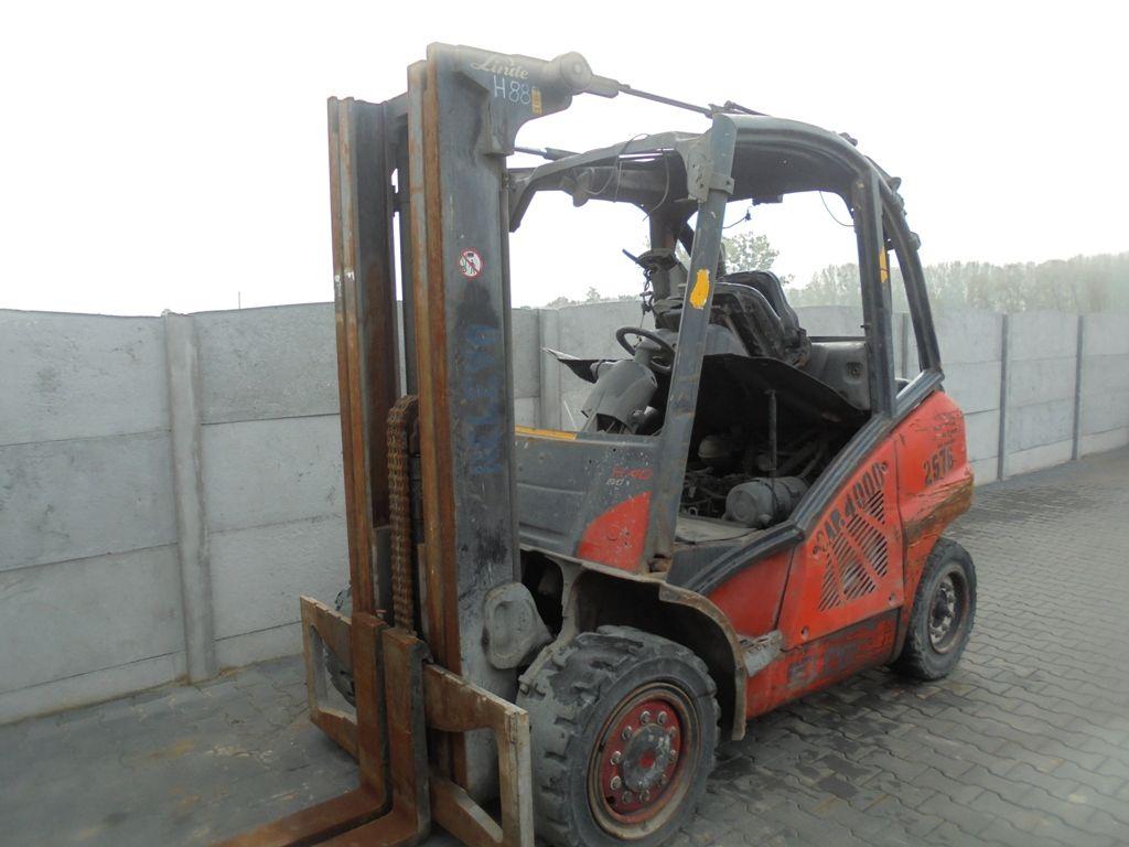 Linde H40D-02 Diesel Forklift www.superlift-forklift.com