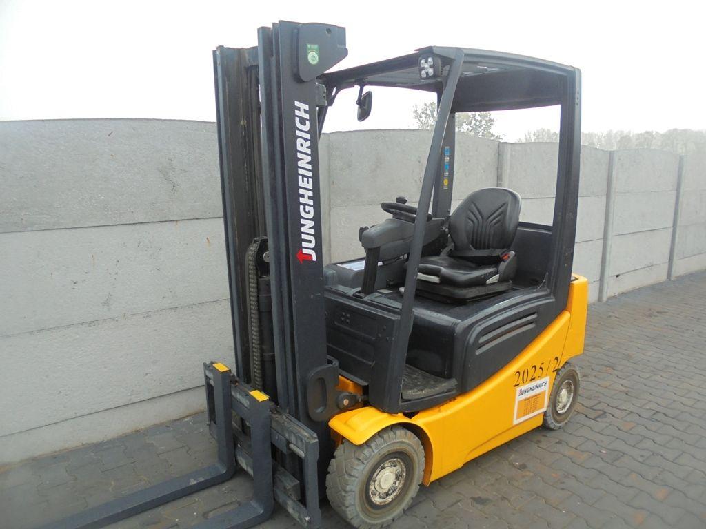 Jungheinrich EFG316k Electric 4-wheel forklift www.superlift-forklift.com
