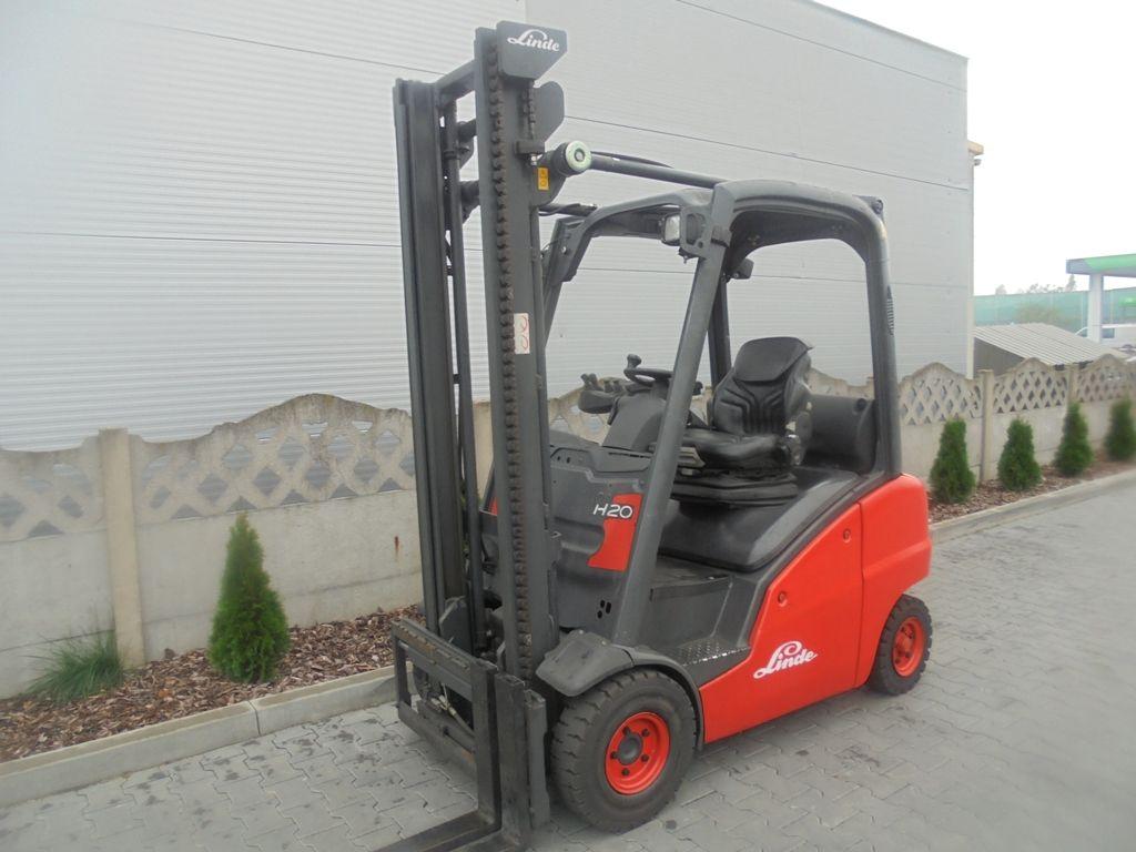 Linde H20D Diesel Forklift www.superlift-forklift.com
