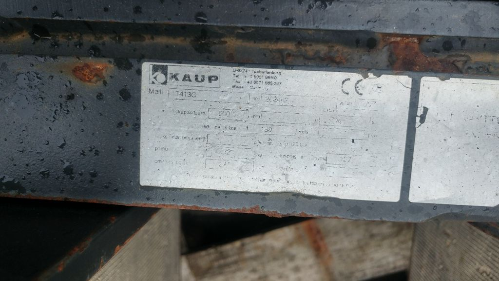 Kaup 1T413G Appliance clamp www.superlift-forklift.com