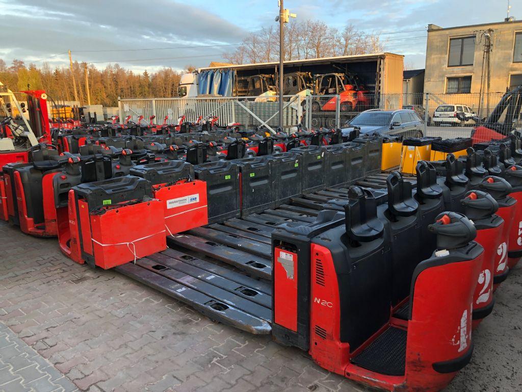 Linde 46x N20 Packet price Stand-on stacker www.superlift-forklift.com