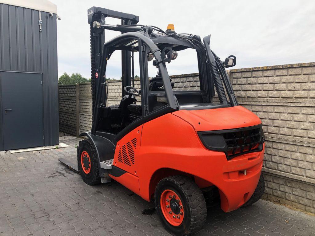 Linde H50D-01 Diesel Forklift www.superlift-forklift.com