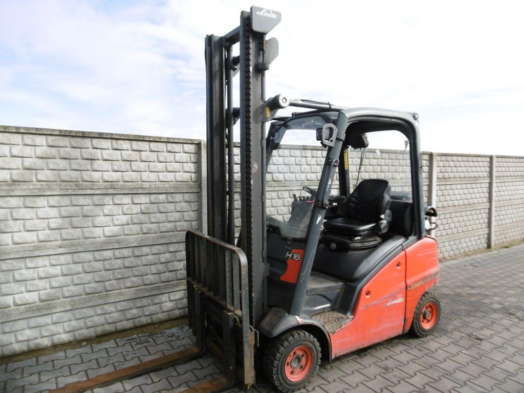 Linde H18T-03 LPG Forklifts www.superlift-forklift.com