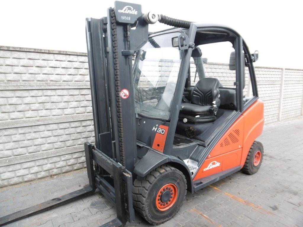 Linde H30D-01 Diesel Forklift www.superlift-forklift.com