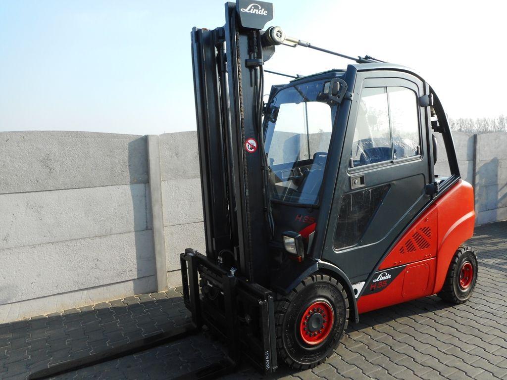 Linde H35D-02 Diesel Forklift www.superlift-forklift.com