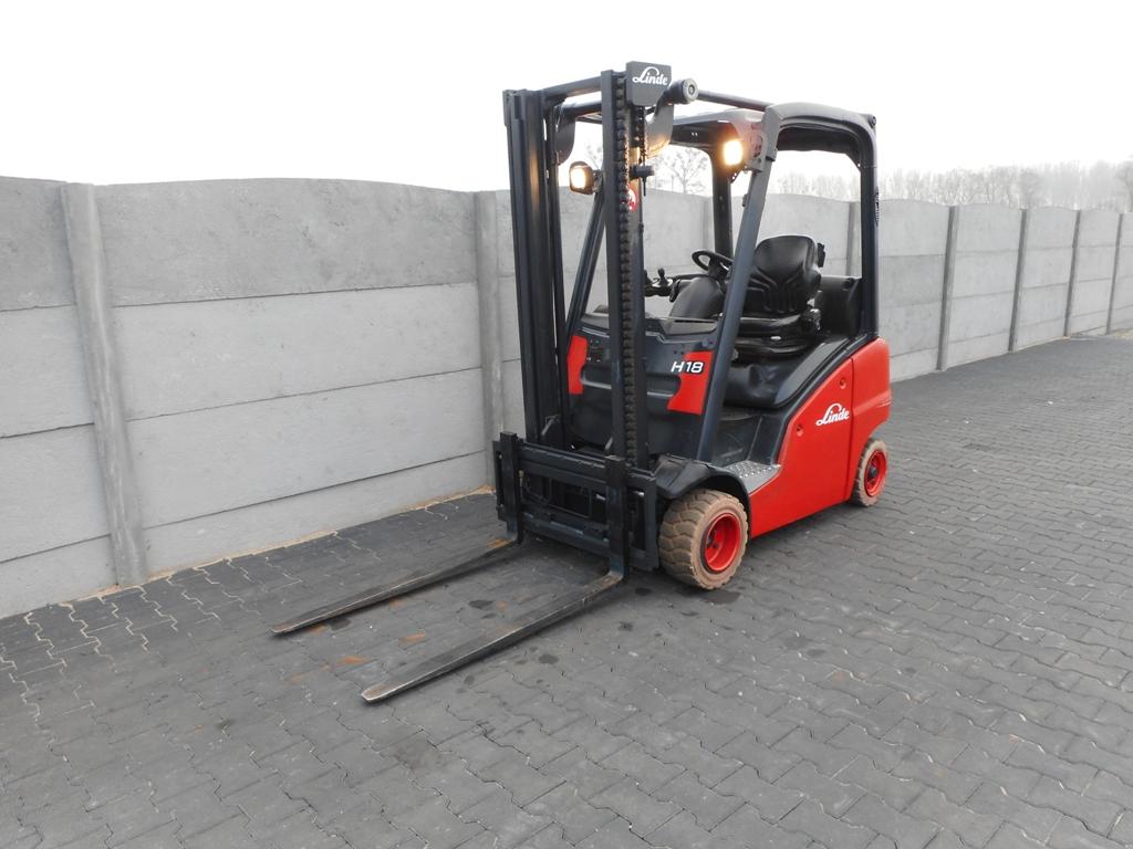 Linde H18T-01  LPG Forklifts www.superlift-forklift.com