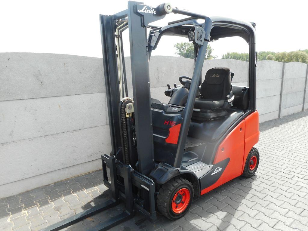 Linde H16T-01 LPG Forklifts www.superlift-forklift.com
