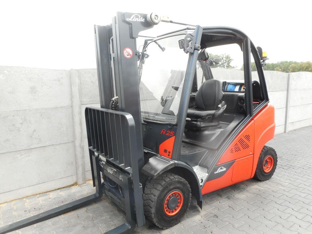 Linde H25T-02 LPG Forklifts www.superlift-forklift.com