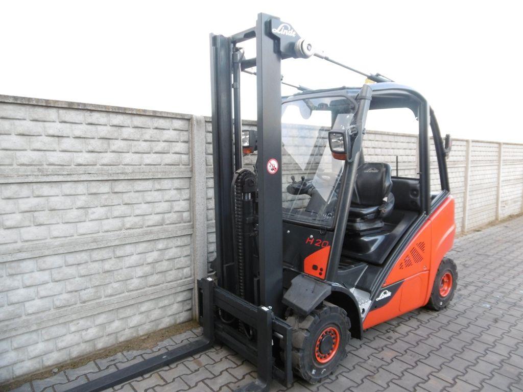Linde H20D-02/600 Diesel Forklift www.superlift-forklift.com