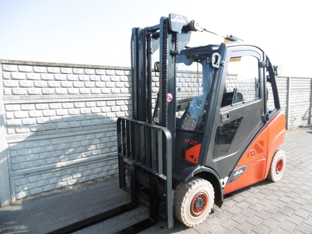 Linde H25D-02 Diesel Forklift www.superlift-forklift.com