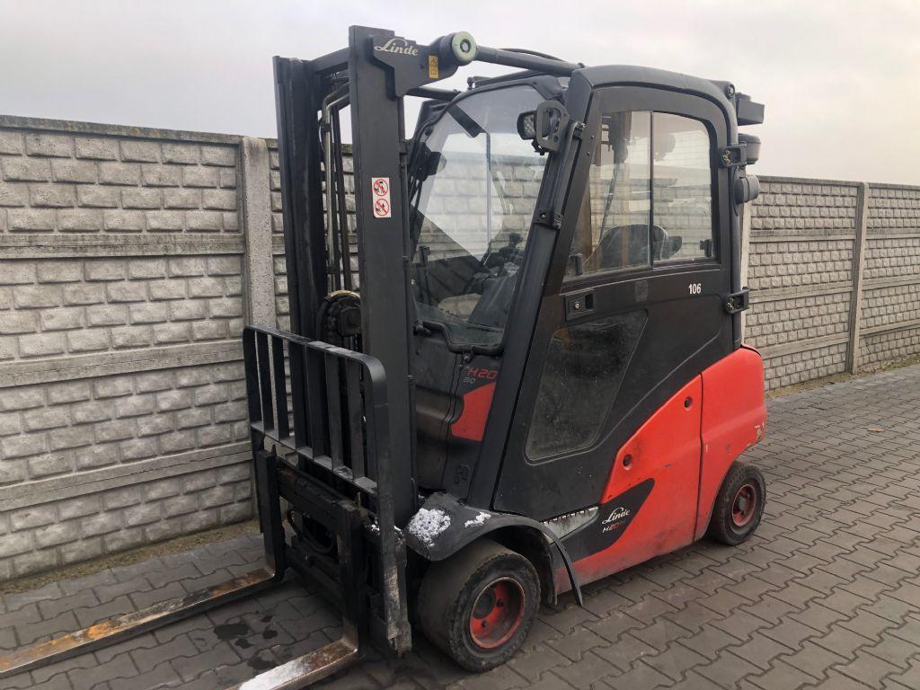 Linde H20D-01 Diesel Forklift www.superlift-forklift.com