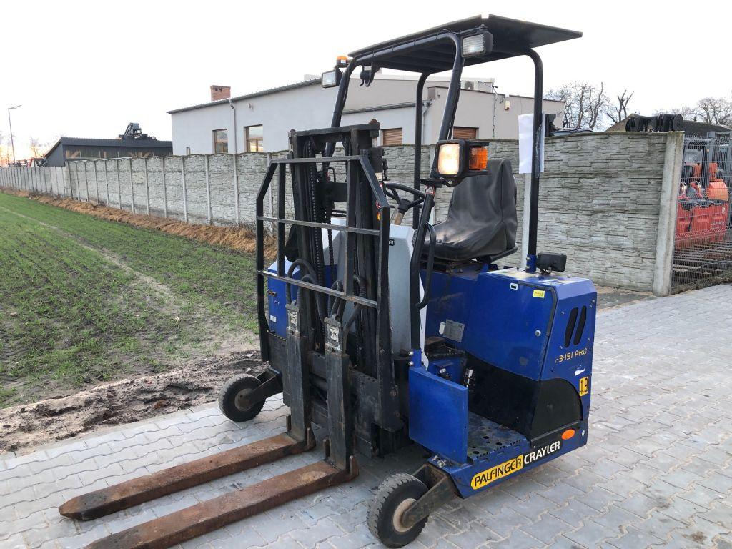 Palfinger F3151 Truck mounted forklift www.superlift-forklift.com