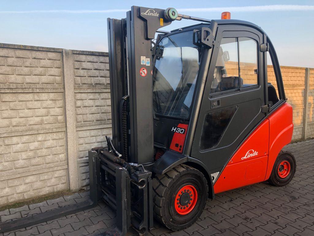 Linde H30T LPG Forklifts www.superlift-forklift.com