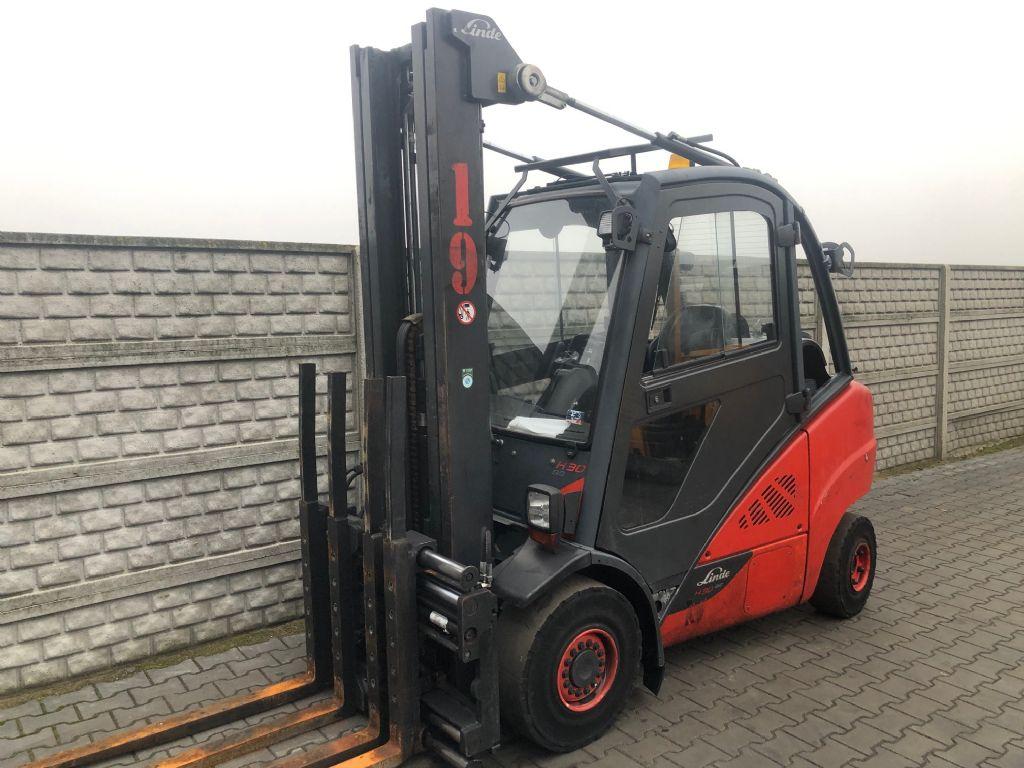 Linde H30T-02 LPG Forklifts www.superlift-forklift.com