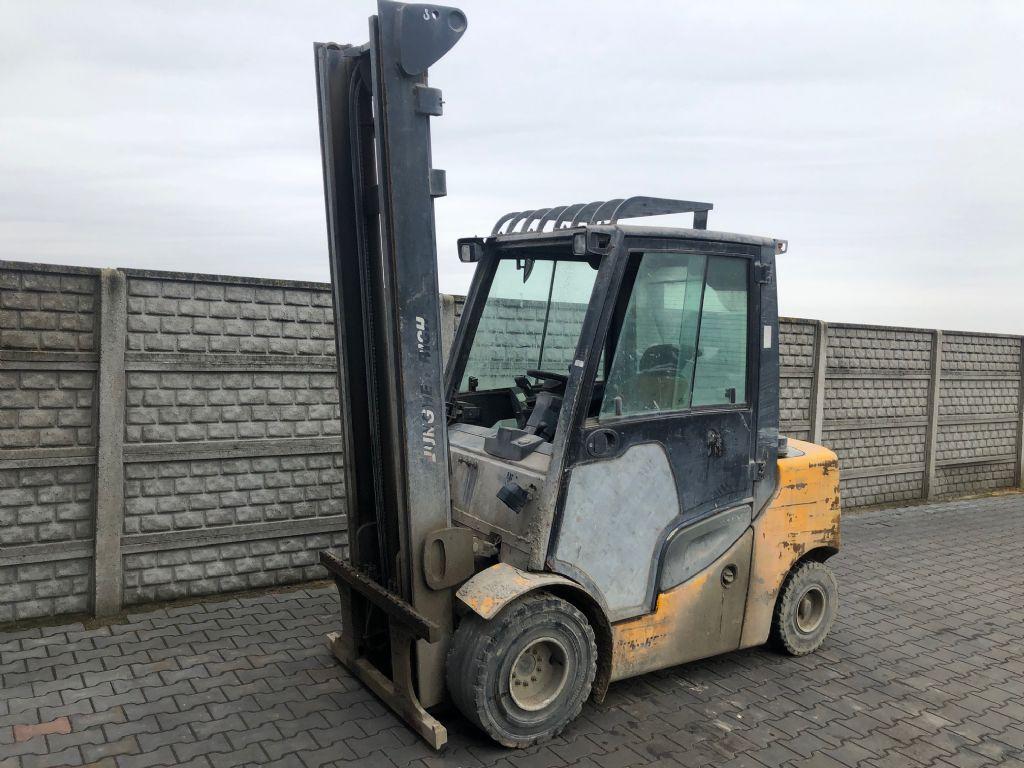 Jungheinrich DFG435s Diesel Forklift www.superlift-forklift.com