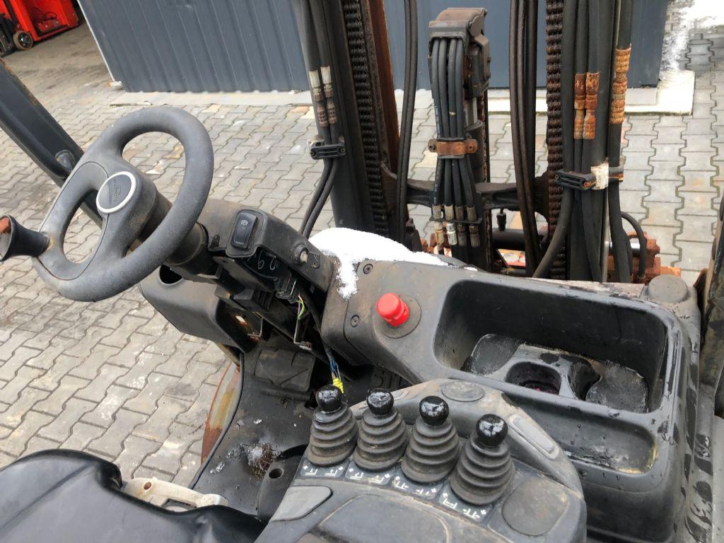 Linde E20-01 Electric 4-wheel forklift www.superlift-forklift.com