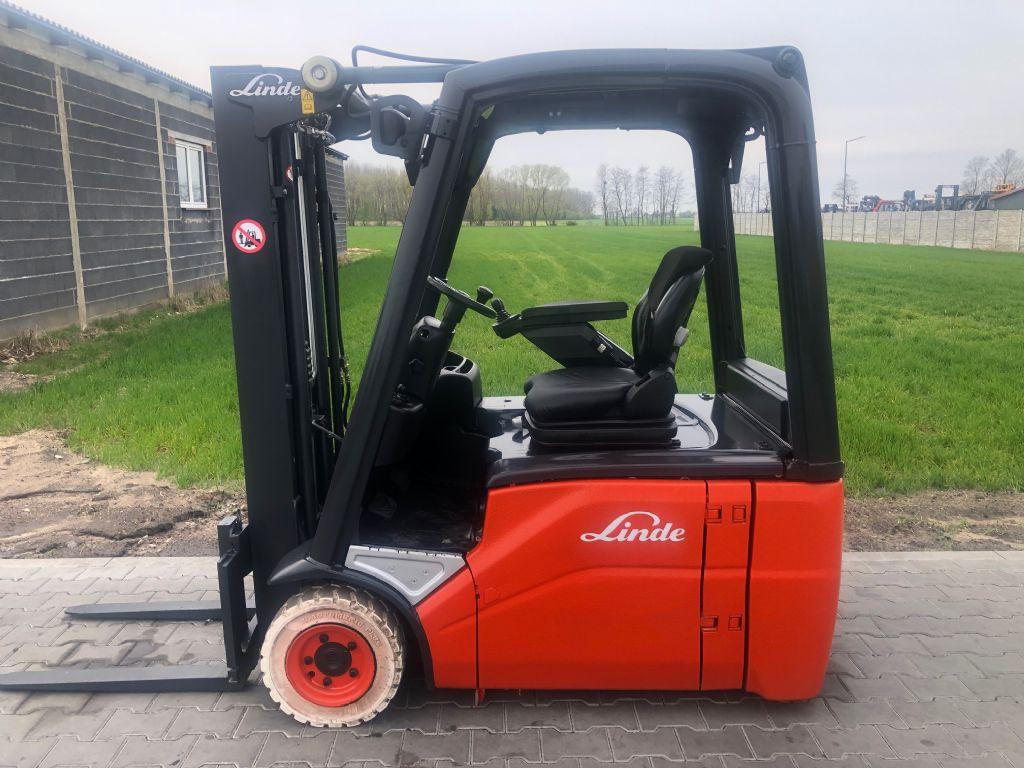 Linde E16-00 Electric 3-wheel forklift www.superlift-forklift.com