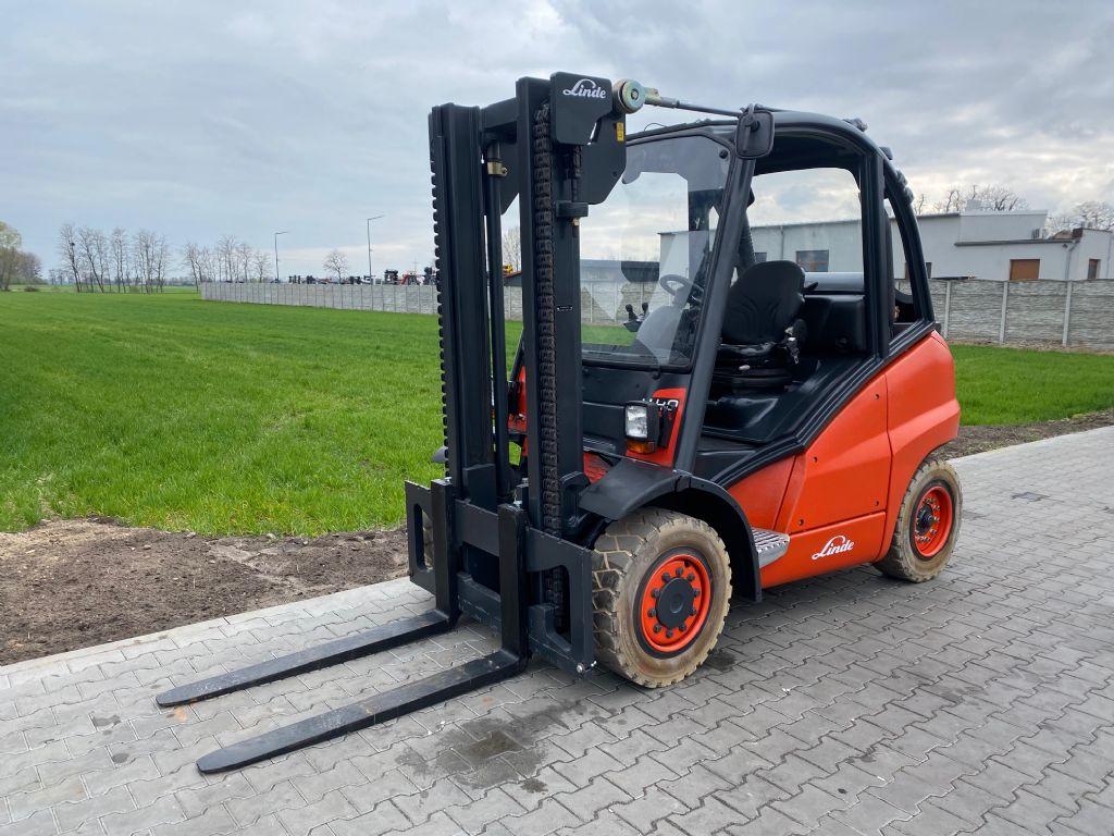 Linde H40T LPG Forklifts www.superlift-forklift.com