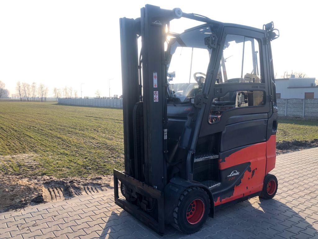 Linde E30HL-01/600 Electric 4-wheel forklift www.superlift-forklift.com