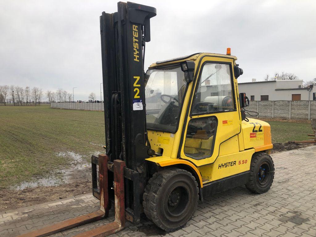 Hyster H5.50XM LPG Forklifts www.superlift-forklift.com