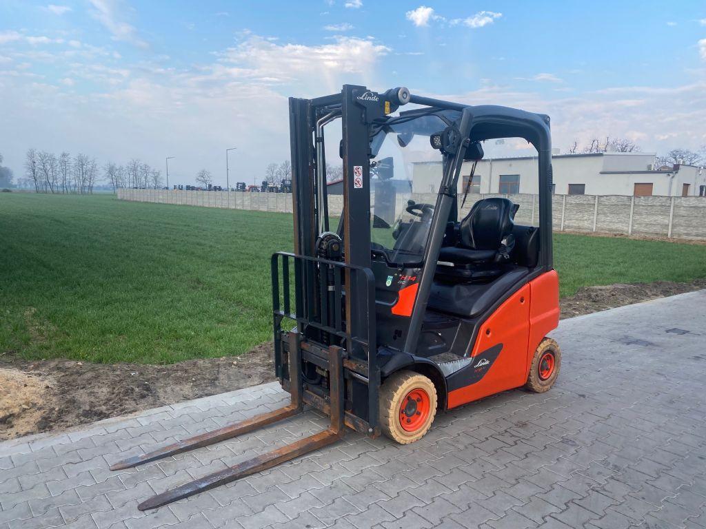 Linde H14T-01 LPG Forklifts www.superlift-forklift.com