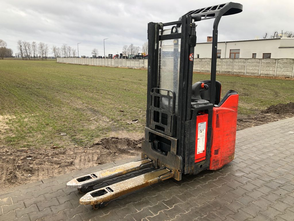 Linde L14LSP High Lift stacker www.superlift-forklift.com
