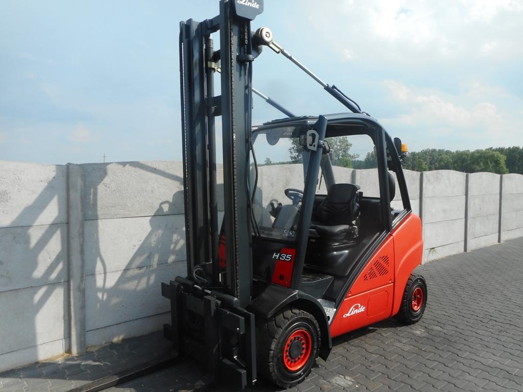 Linde H35D-01 Diesel Forklift www.superlift-forklift.com