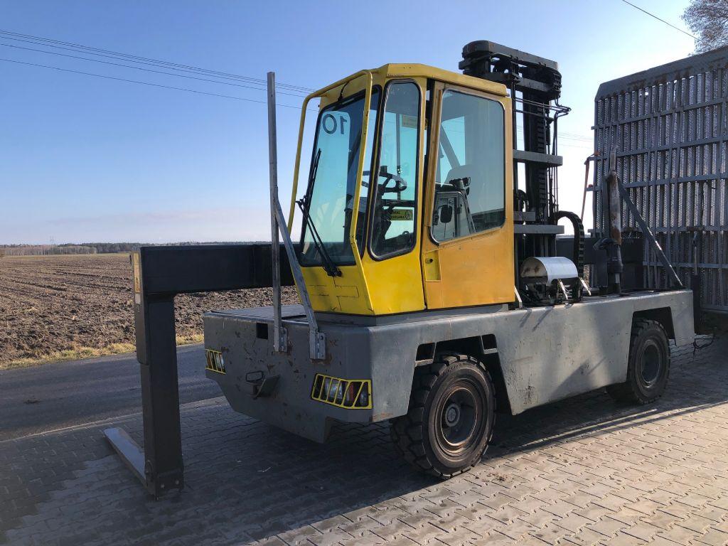 Baumann DX50/14/13/45 Sideloader www.superlift-forklift.com