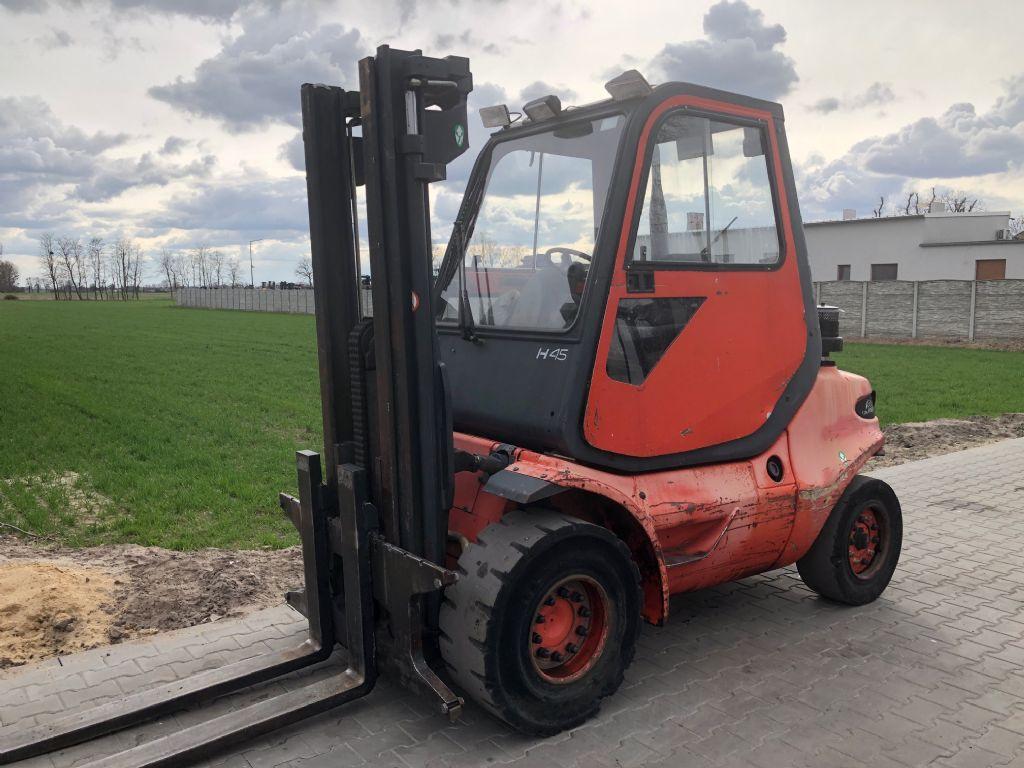 Linde H45D-600 Diesel Forklift www.superlift-forklift.com