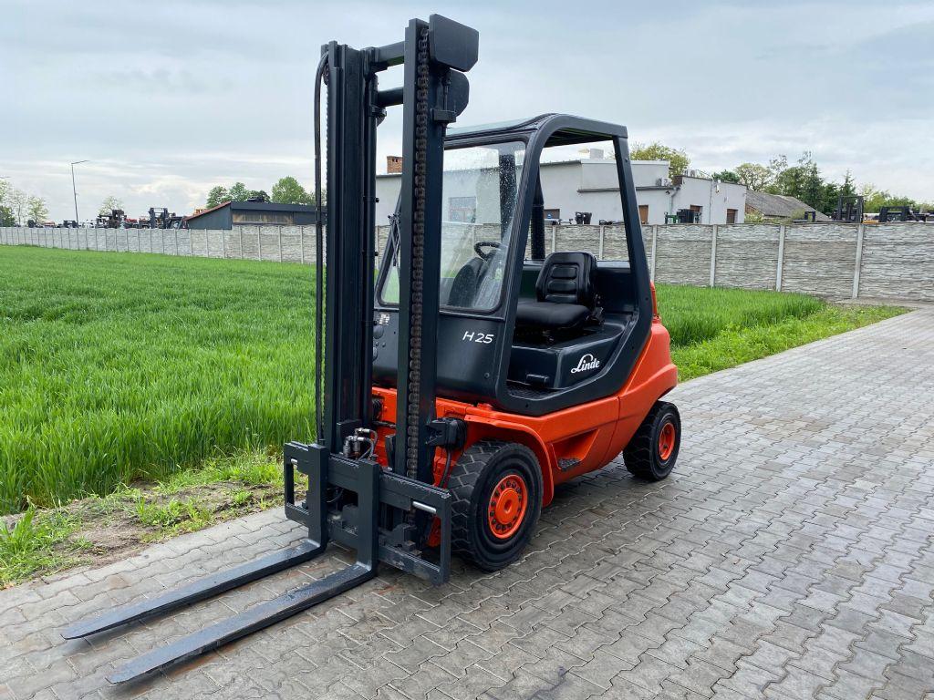 Linde H25D-03 Diesel Forklift www.superlift-forklift.com