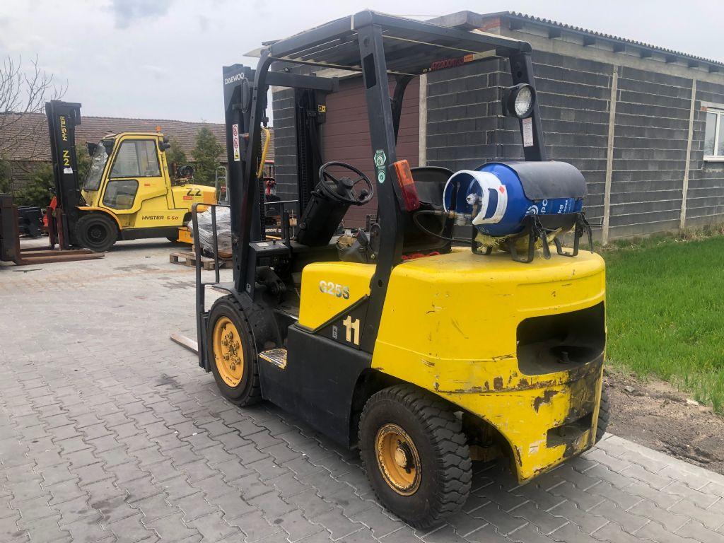 Daewoo G25S-3 LPG Forklifts www.superlift-forklift.com