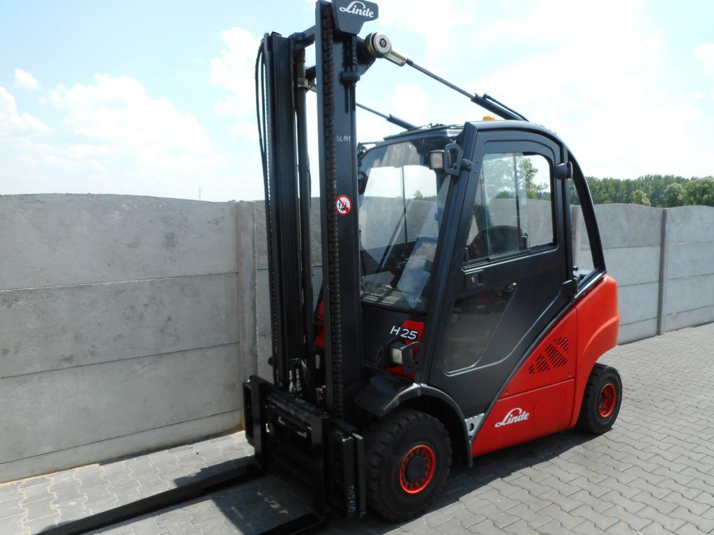 Linde H25D Diesel Forklift www.superlift-forklift.com