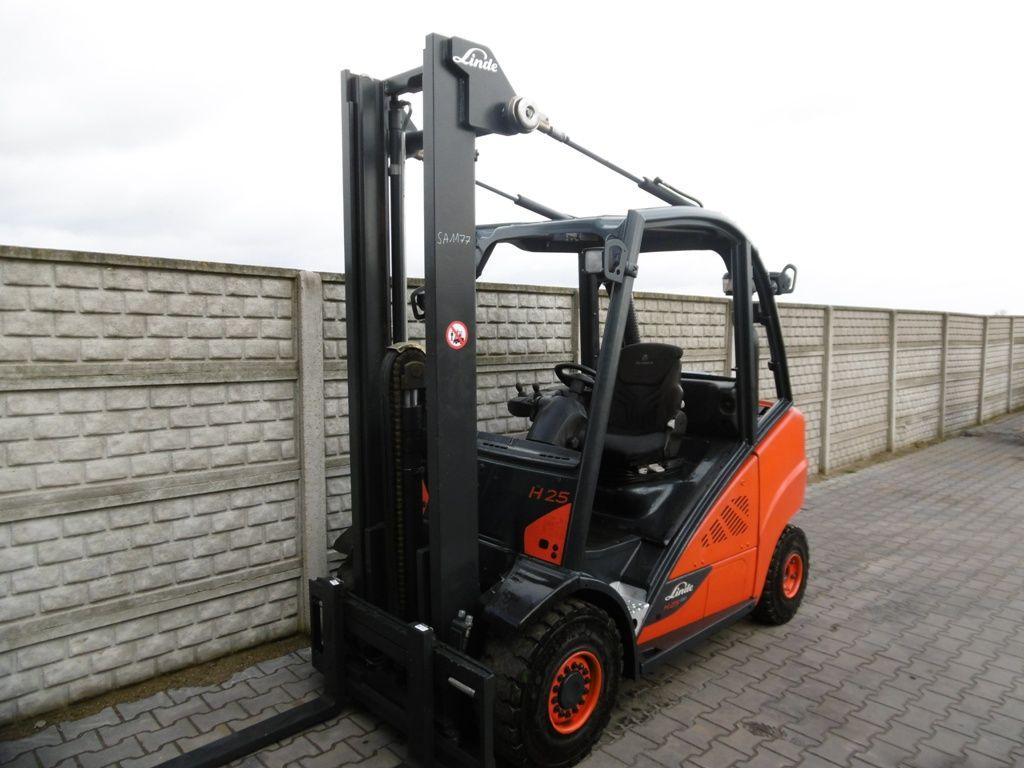 Linde H25T-02/600 LPG Forklifts www.superlift-forklift.com