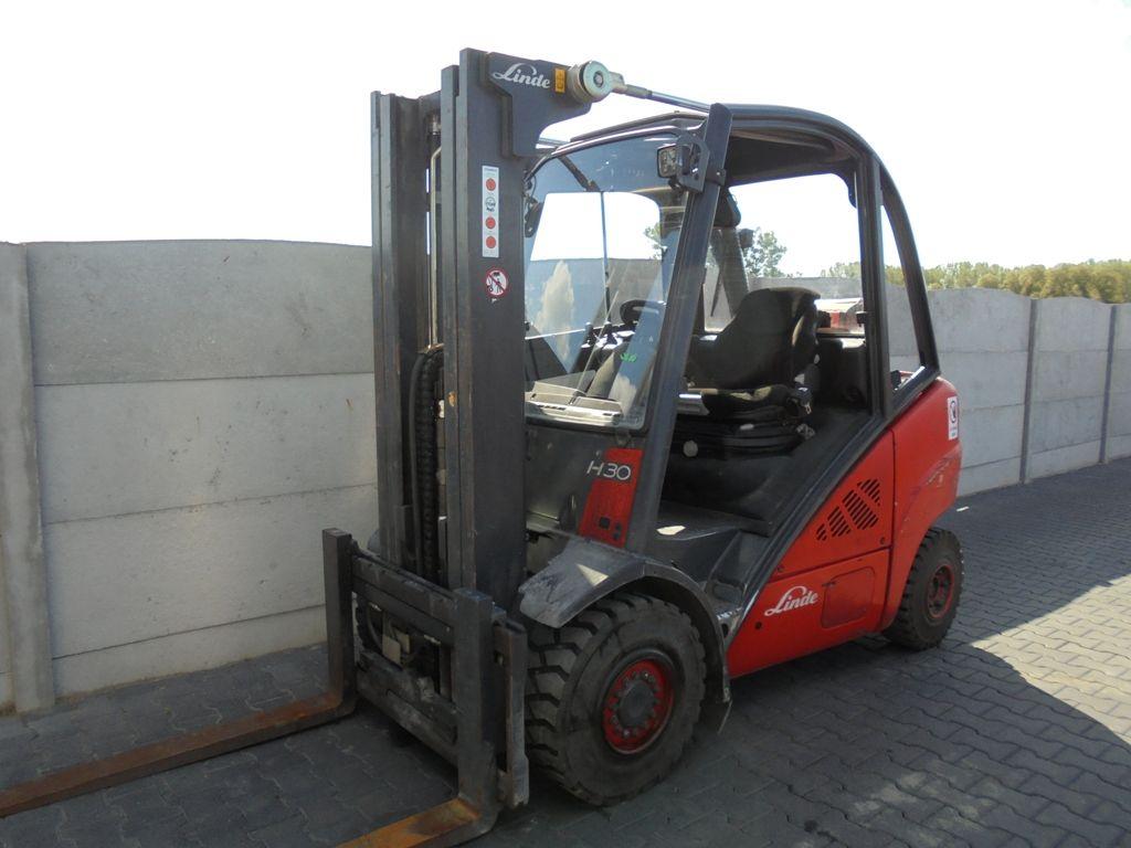 Linde H30T-01 LPG Forklifts www.superlift-forklift.com
