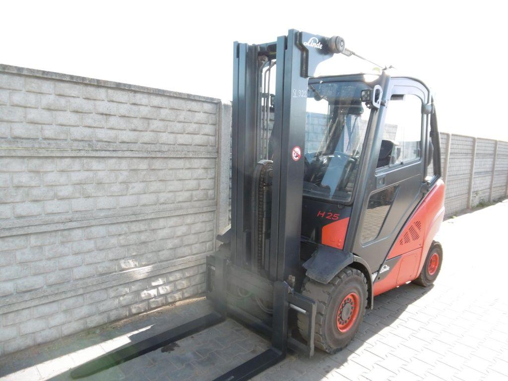 Linde H25D-02/600 Diesel Forklift www.superlift-forklift.com
