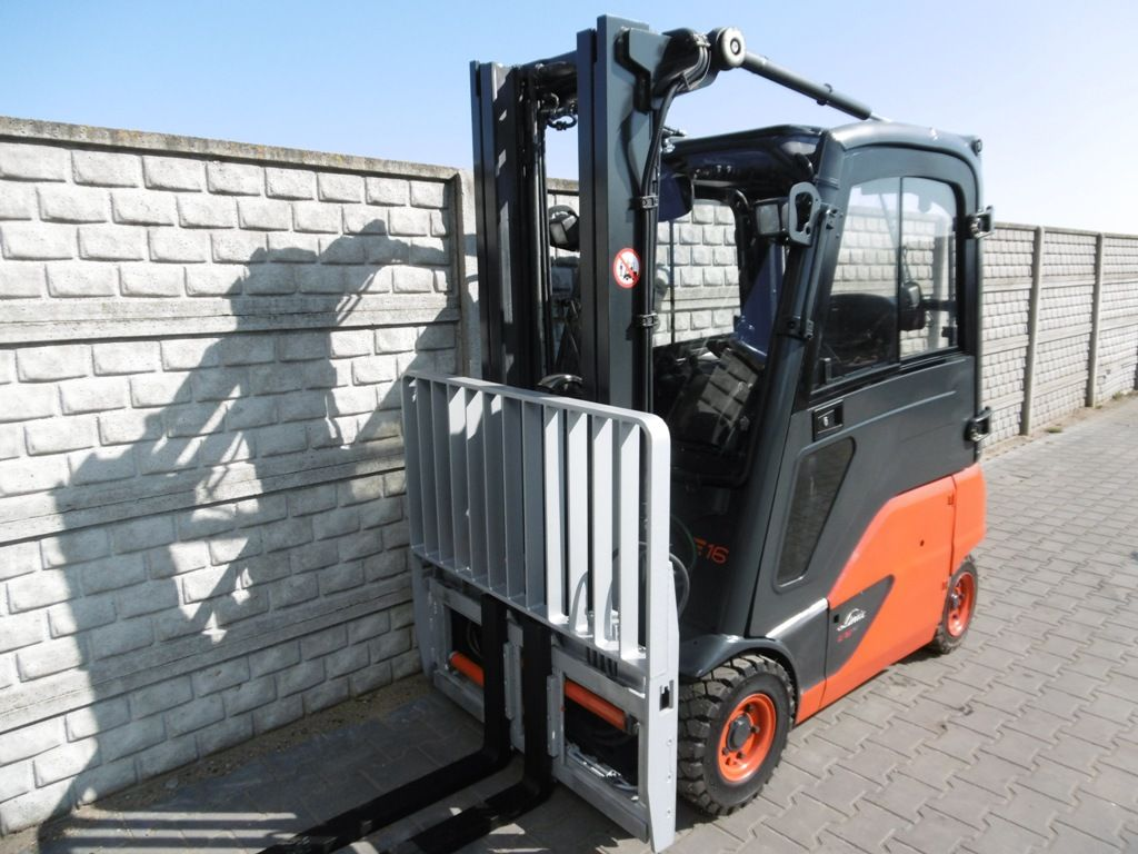 Linde E16P-02 Electric 4-wheel forklift www.superlift-forklift.com
