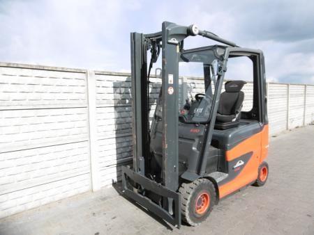 Linde E20H-01/600 Electric 4-wheel forklift www.superlift-forklift.com