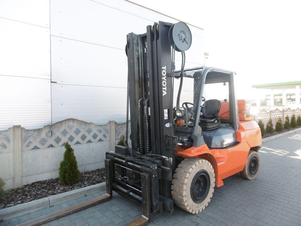 Toyota 7FGA50 LPG Forklifts www.superlift-forklift.com