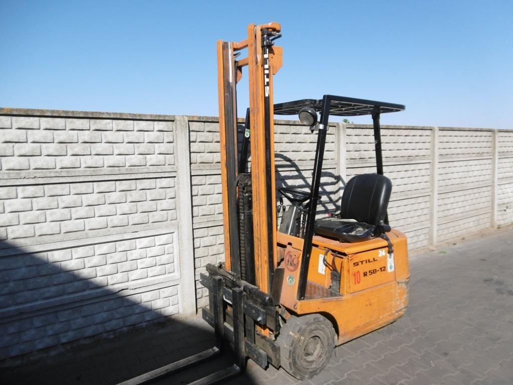 Still R50-12 Electric 3-wheel forklift www.superlift-forklift.com