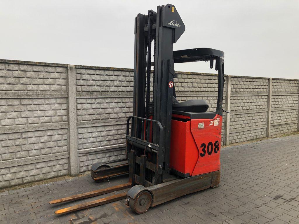 Linde R14-01 Reach Truck www.superlift-forklift.com