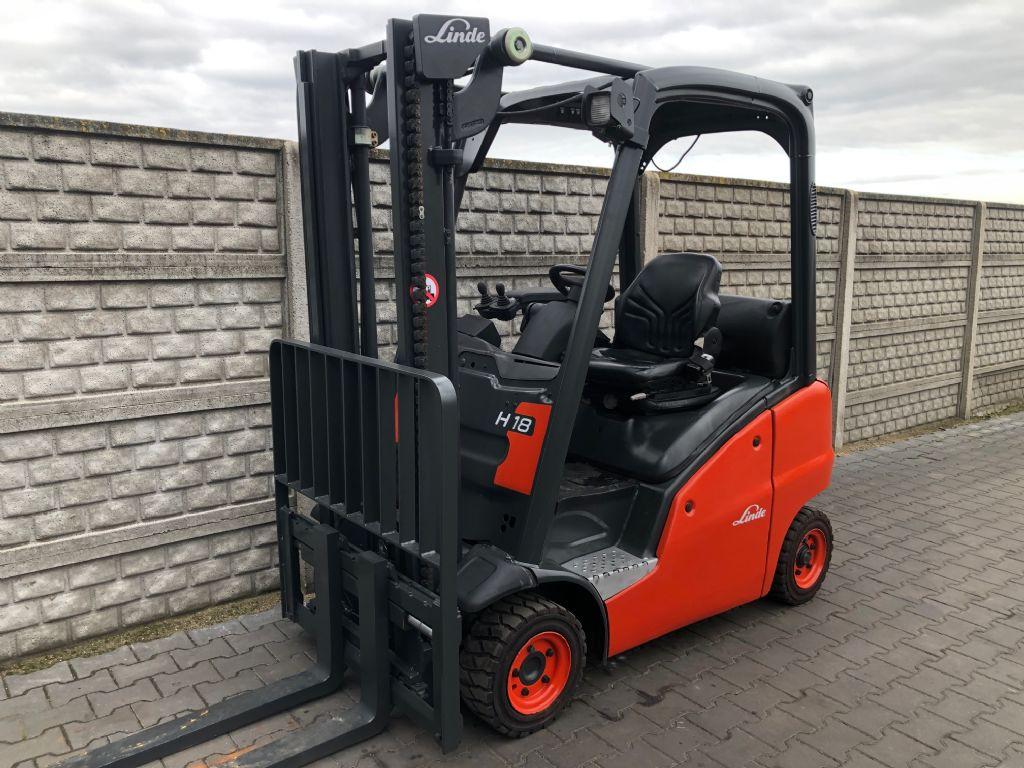 Linde H18D Diesel Forklift www.superlift-forklift.com